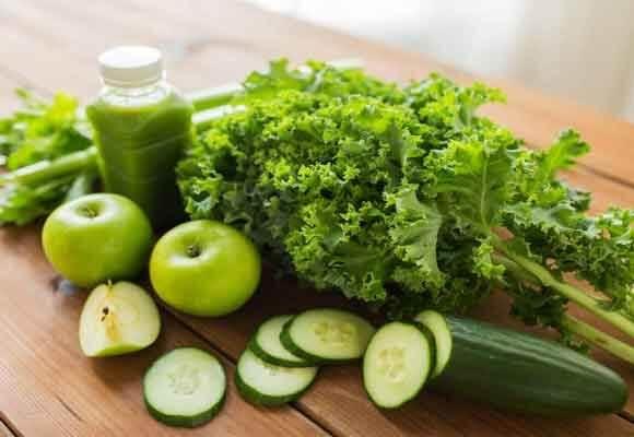 Receta de jugos verdes